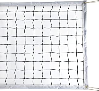 Milky House Volleyball Net Volleyball Replacement Net for Outdoor or Indoor Sports Backyard Schoolyard Pool Beach (32 FT x 3 FT) Poles Not Included