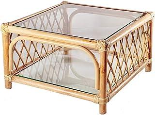 Table Basse Rotin Petite Table à thé Homestay Séjour Nordic Bay Window Tatami Tatami Tea Set Balcon Table de thé Combinaison