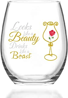 Disney Beauty /& the Beast Verre Tumbler Mme Potts Boire Nouveauté Cadeau Verre PK