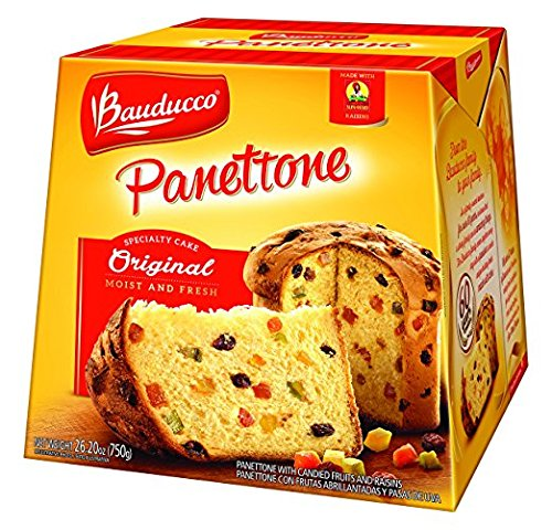 Bauducco Panettone Original a traditional Italian holiday cake Moist and Fresh 2 Pack 1500 gr