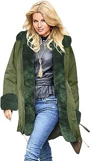 Giacca Moto Invernale Donna Retro Cappotto Reversibile