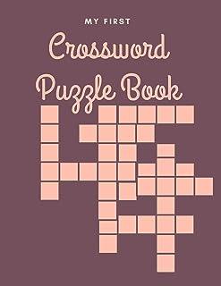 My First Crossword Puzzle Book: First Children Crossword Puzzle Book for Kids Ages 4-8
