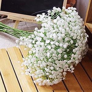 NO:1 Silk Artificial Baby Breath Gypsophila Flower Wedding Home Decor Gift