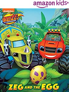 Zeg and the Egg (Board) (Blaze and the Monster Machines)