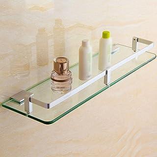 YF-SURINA Étagère de rangement de bain, étagères de salle de bain support de douche mural panier de bain panier étagère en...