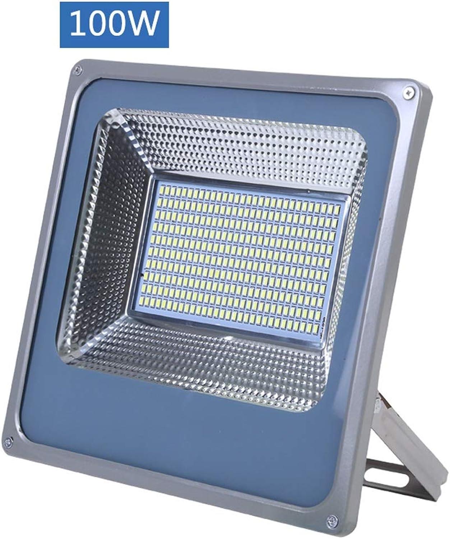 LED-Flutlichter,Outdoor-Sicherheitslampe Hochleistungsweies Licht IP67 Wasserdichte Technische Beleuchtung (watt   100W)