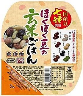 越後製菓 ほくほく豆の玄米ごはん 150g×12個