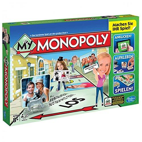 Hasbro A8595 My Monopoly Brettspiel Strategie personalisiertes Spiel Familienspiel
