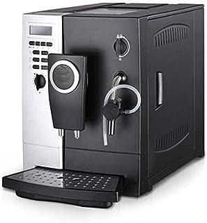JLHBM اثنان في واحد آلة حديثا آلة القهوة المنزلية التلقائي الأرضي الصويا من الطحين للحليب رغوة (الأسود) ggsm 18.1 بوصة الذ...