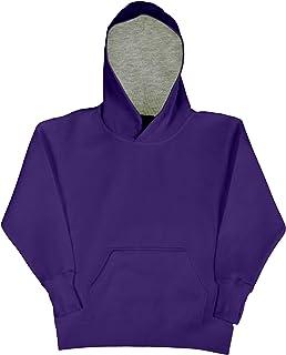 SG Kids Unisex Contrast Hooded Sweatshirt/Hoodie