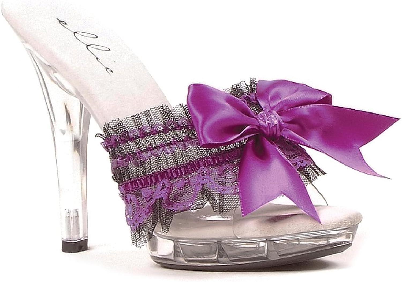 Women's shoes 5 Inch Heel Sandal (Purple;9)
