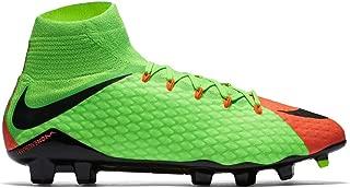 Men's Hypervenom Phatal III Dynamic Fit FG Electric Green/Black/Hyper Orange Soccer Shoes