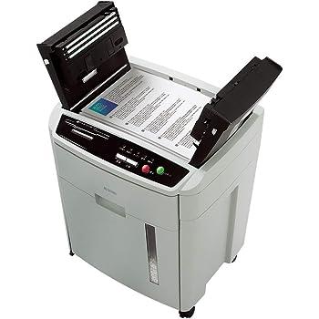 アイリスオーヤマ オートフィードシュレッダー 業務用 自動送り機能 自動細断150枚 クロスカット 静音 ホチキス対応 CD/DVD/カード対応 ハイタイプ ダストボックス23.5L AFS-150C-H グレー