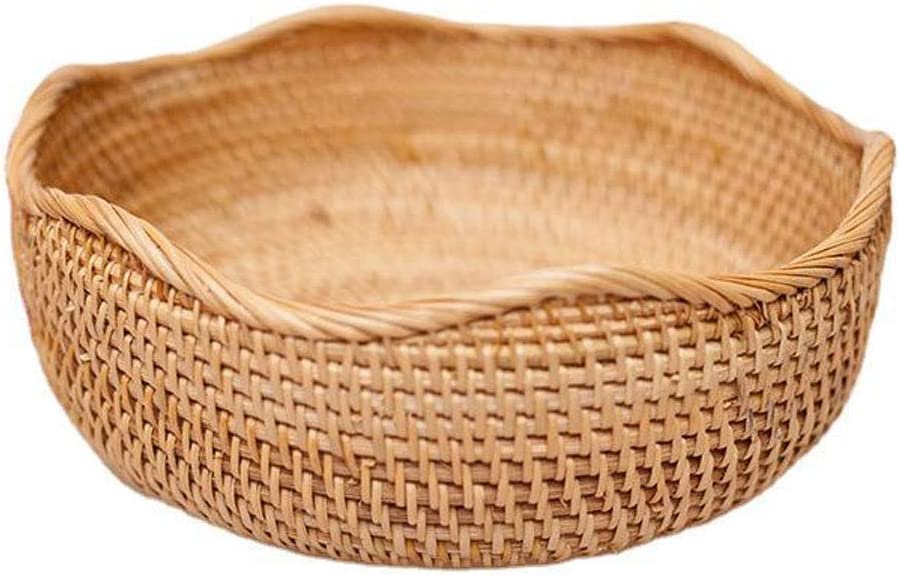 the Max Max 49% OFF 73% OFF teapot company Motley Round Rattan Hand-Woven Basket Fruit