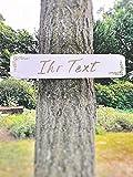 Großes Holzschild für Hochzeit │ Schild aus Holz mit Ihrem Text │ Individuelles...
