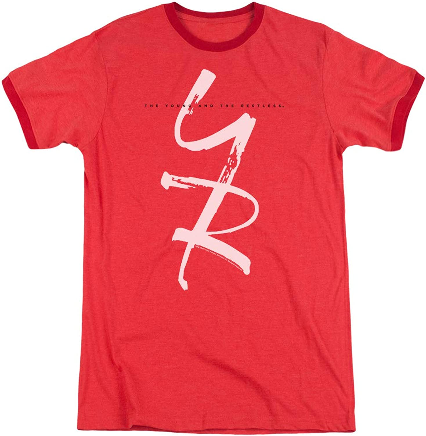 Young And The Restless  Mens Yr Ringer TShirt
