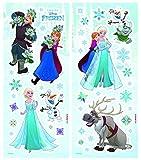 Komar 14803 Deco-Sticker Frozen, Größe 14 x 33 cm, 2