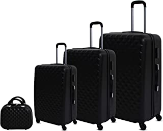 Murano Luggage Trolley Bag, 4 Pieces, 6686