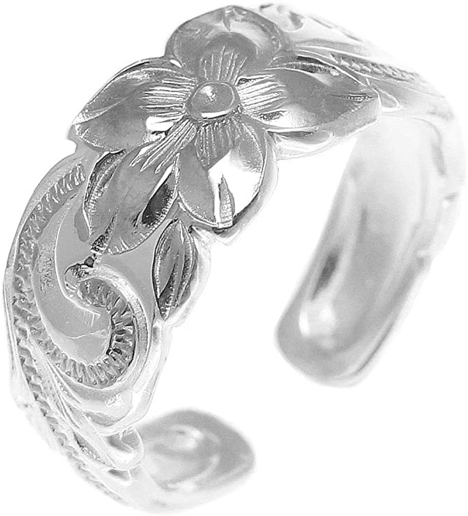 Arthur's Jewelry Long Beach Mall 925 Sterling Silver Plumeria Hawaiian Flower Cheap super special price Sc
