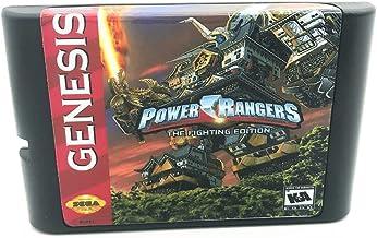 Royal Retro Power Rags The Fighting Edtion pour console de jeux vidéo Sega Genesis et Mega Drive 16 bits (noir)