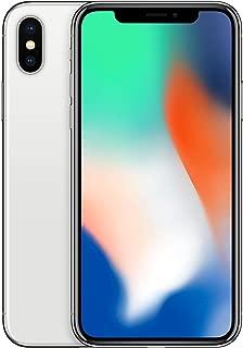 Apple iPhone X Plata 256 GB (Renewed)