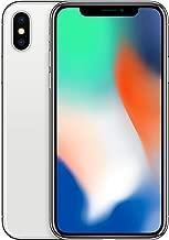 Apple iPhone X 64GB Unlocked GSM Phone - Silver (Renewed)