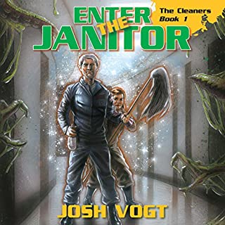 Enter the Janitor audiobook cover art