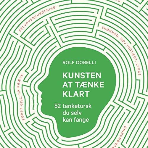Kunsten at tænke klart audiobook cover art