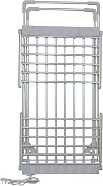Delavala Aluminum Electric Clothes/Towel Dryer Rack Stand with Wings for Your Daily Needs, No Sunlight Required to Dry Clothe