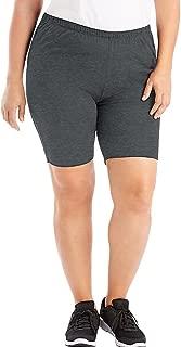 Stretch Cotton Jersey Women's Bike Shorts