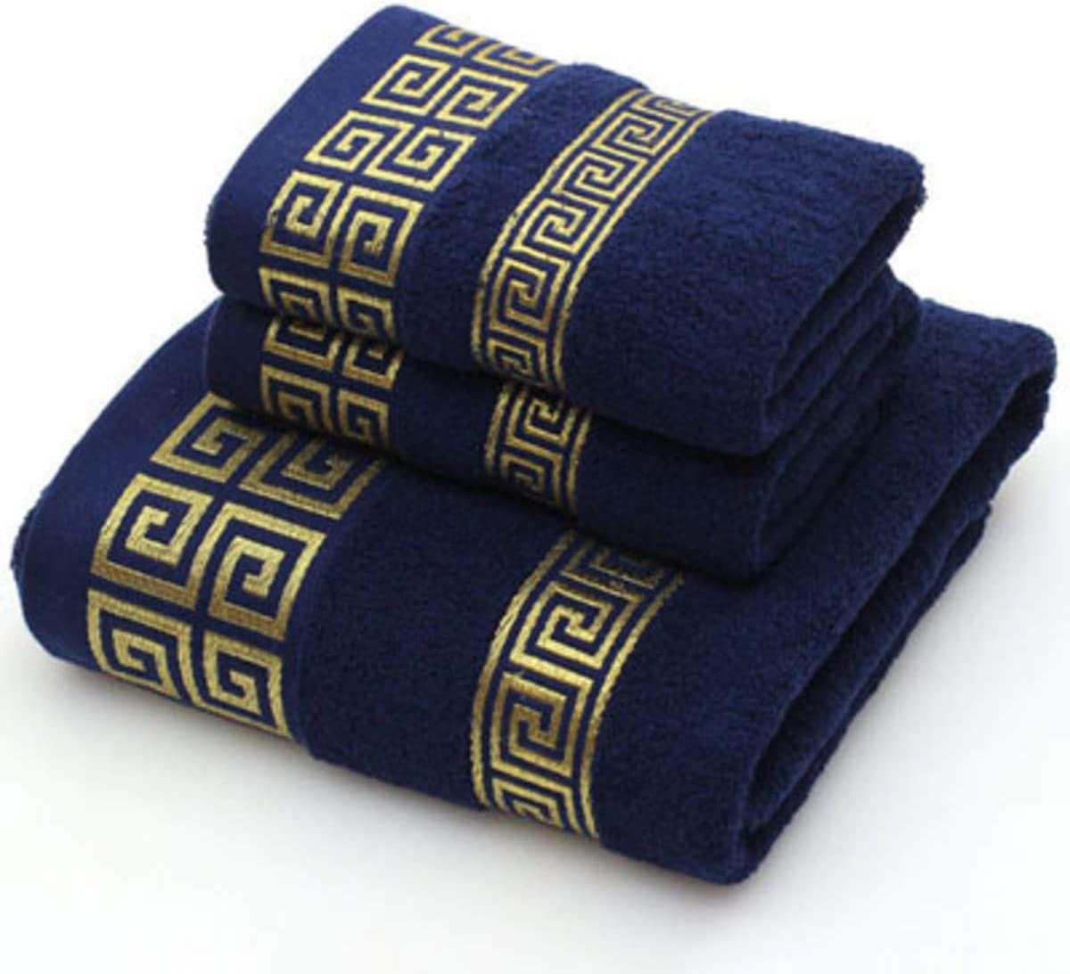 shangyi 2 Face Hand New Shipping Free Shipping Towel 1 Bathroom Solid Bath Color Blue Super popular specialty store