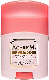 AGARISM トーンアップUVスティック アガリズム 小顔ローラー 美容クリーム むくみ防止 保湿 引き締め成分 天然オイル配合 日焼け止め UVケア ハイライト
