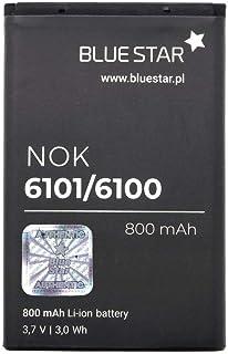 Blue Star Premium - Batería de Li-Ion litio 800 mAh de Capacidad Carga Rapida 2.0 Compatible con el nokia 6101 / 6100 / 6300