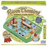 ThinkFun River Crossing Gioco di Riflessione e Logica, Multicolore, 76349...