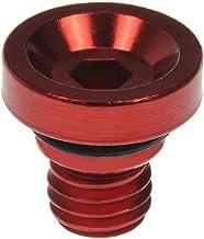 Dorman 712-X95E Wheel Nut Cap, Red Aluminum (Pack of 20)