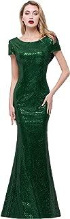 Best hunter green sequin bridesmaid dress Reviews