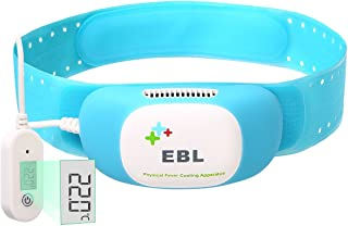 EBL Intelligent Fever Cooling Relief Cold Ice Pack Cooling Patch for Eyes Pain Relief, Migraine Headache Relief, Stress Relief, Anxiety - FDA Approved