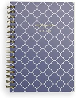 $29 » myAgenda Desktop Spiral Day Planner (July 2019 - December 2020) Organize Your Busy Life with Our Unique Week-at-A-View Layout. Weekly Inspirational Quotes Included. (Navy Clover)