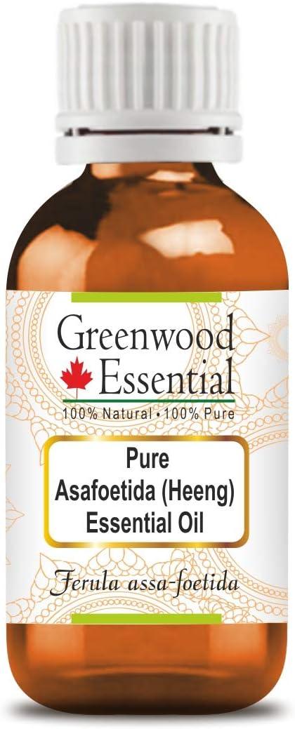 Greenwood Essential Pure Asafoetida Luxury Oil Ferul Max 51% OFF Heeng