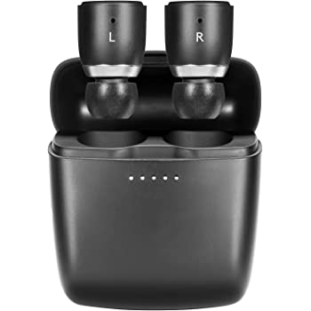 Cambridge Audio Melomania 1 Earbuds Pair, True Wireless Bluetooth 5.0, Hi-Fi Sound, in-Ear Stereo Earphones for iPhone and for Android, with Portable Charging Case (Black)