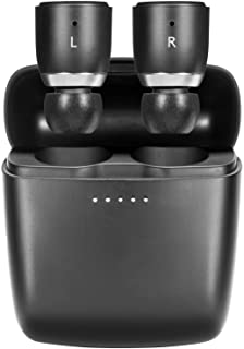 Cambridge Audio Melomania 1 Earbuds Pair, True Wireless Bluetooth 5.0, Hi-Fi Sound, in-Ear Stereo Earphones with Portable Charging Case (Black)