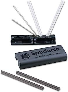Spyderco Tri-Angle Premium Sharpmaker Set with DVD and Two Sets of Alumina Ceramic Stones - 204MF