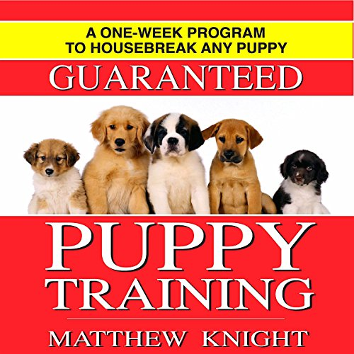 『Puppy Training: A One-Week Program to Housebreak Your Puppy』のカバーアート