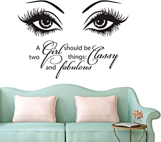 a girl should be two things classy and fabulous