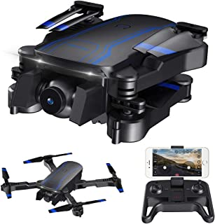 AKASO A300 Mini Drone Dual Camera Live Video Quadcopter with 1080P HD FPV WiFi RC Drone for Kids Beginners Adults