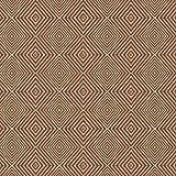 Hans-Textil-Shop Stoff Meterware Ethnic Diamond Braun - 1
