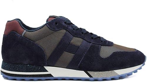 Hogan Sneaker Uomo H482 H Nastro Blu HXM4820AN51OD765NX 40, OD7 ...