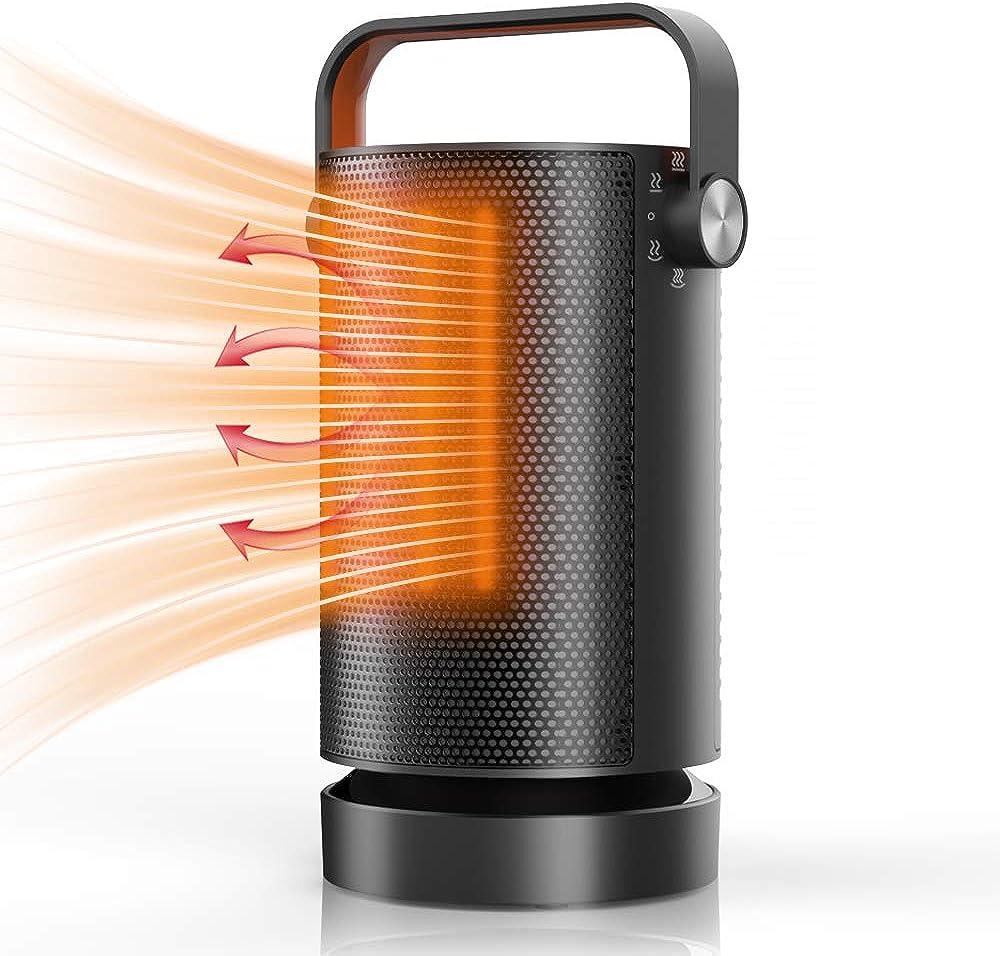 Mefine,termoventilatore stufa elettrica basso consumo Mefine
