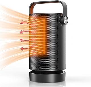 Calefactor Eléctrico, Mefine Calefactor de aire caliente Cerámico Calentador de Espacio Portátil, 3 Modos, Termostato Regu...