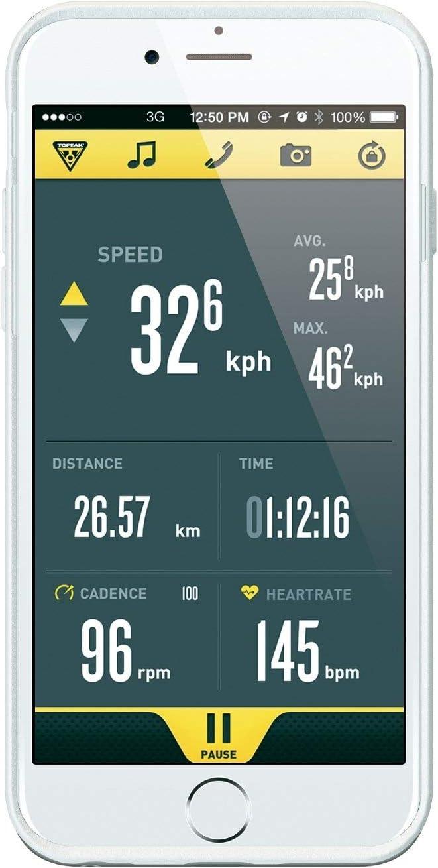 Topeak Ridecase Für Iphone 6 Mit Halter Fahrrad Handy Hülle Case Universal Mit Halter Tt9845 Farbe Weiß Sport Freizeit